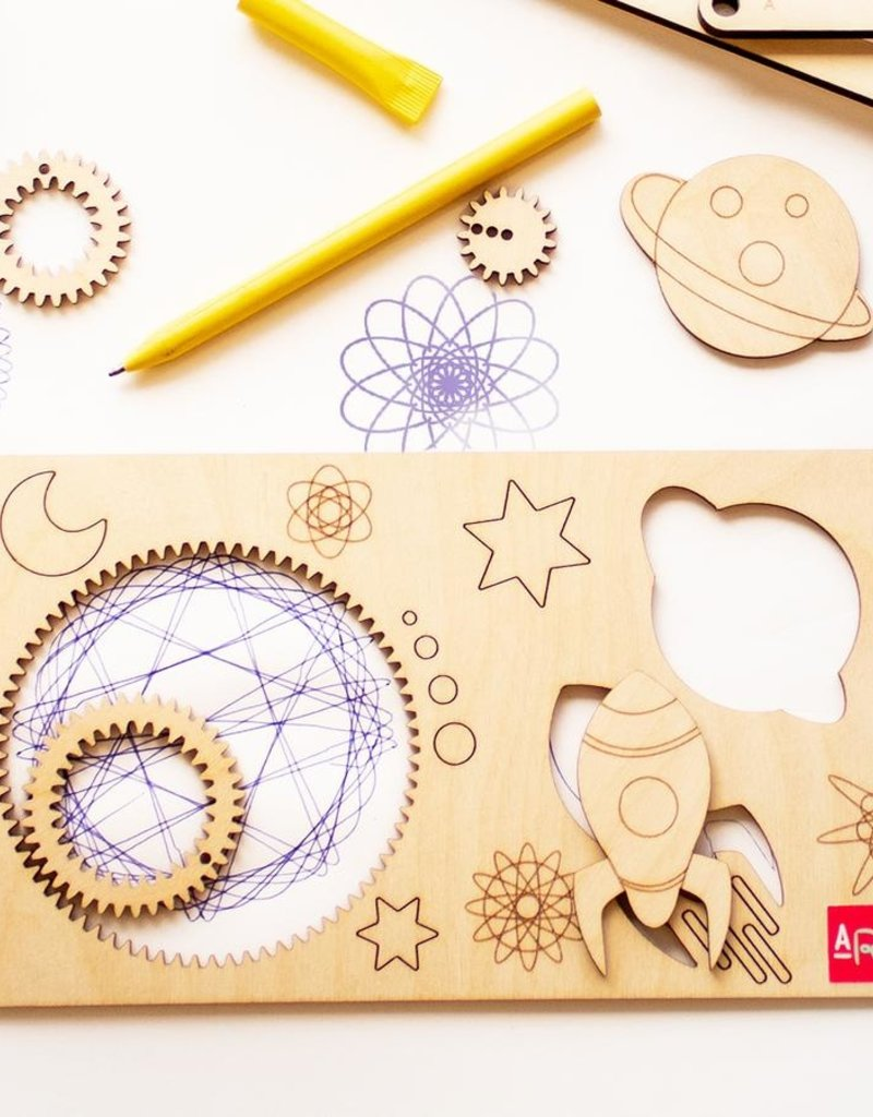 Atelier Rue Tabaga Spiral-ART- Ensemble à dessin