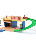 La station service