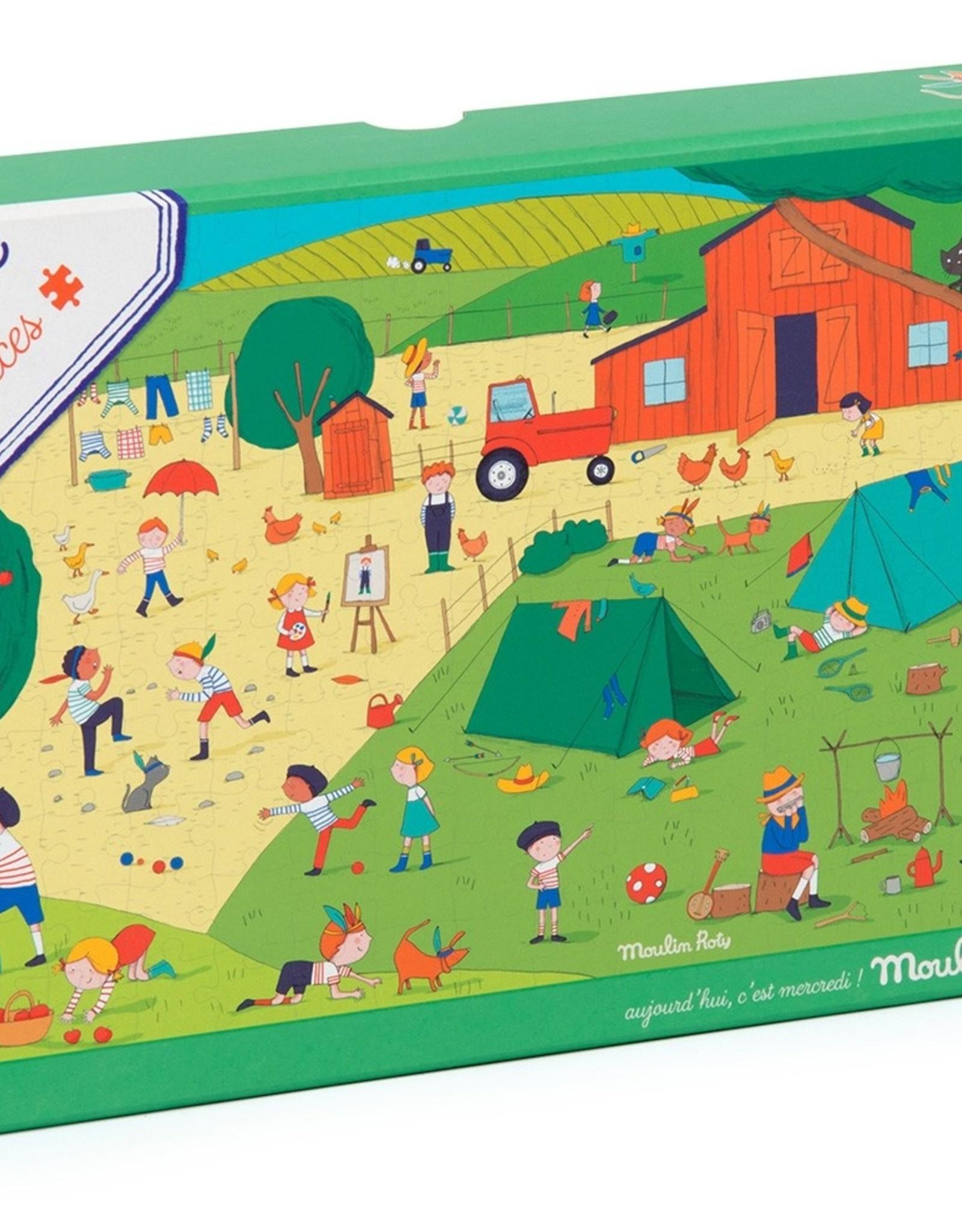 Puzzle A la campagne