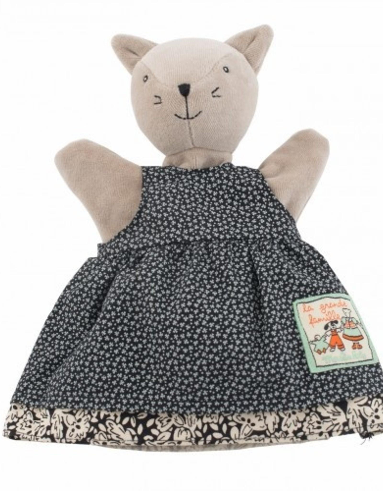 Puppet Agathe the cat