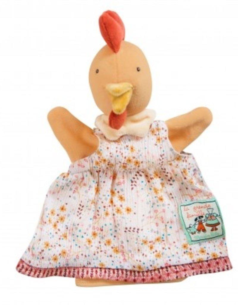 Puppet Felicie the hen