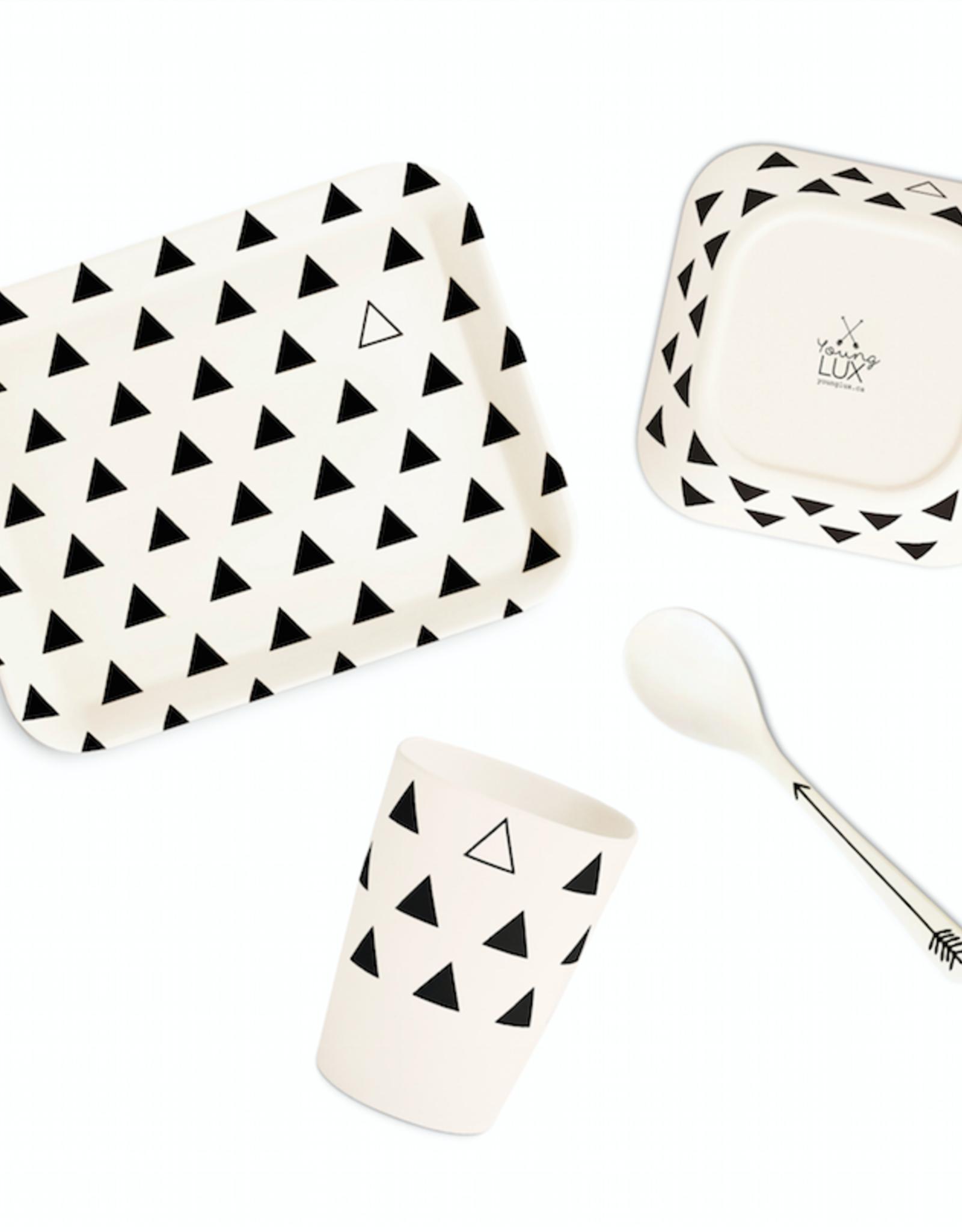 Bamboo Fiber Tableware gift set