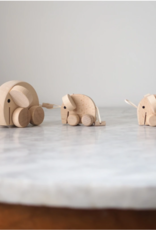 Sarah and Bendrix Mabel - Set of Wooden Elephants