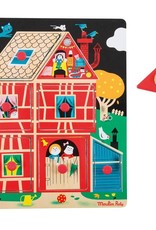 Moulin Roty House peg puzzle