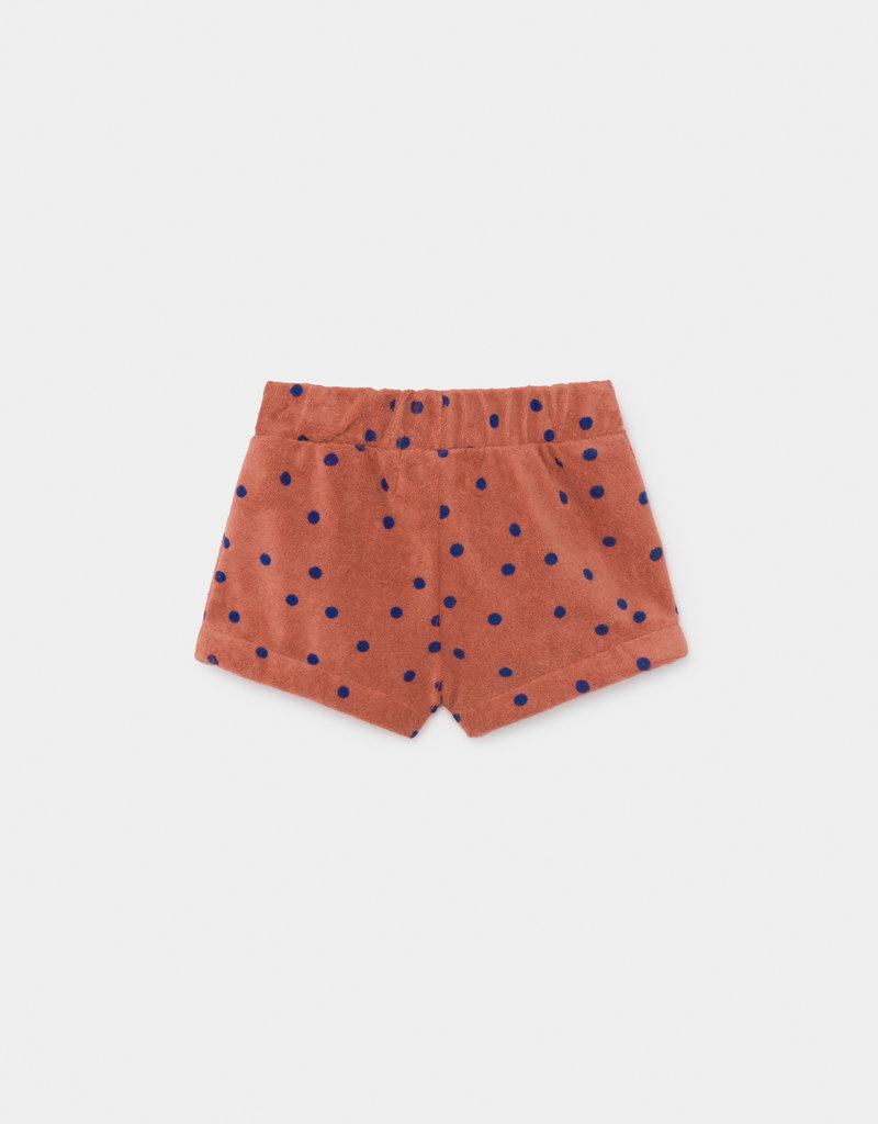 Baby shorts, dots print