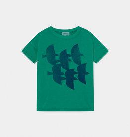 T-shirt, imprimé oiseaux