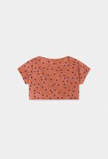Spots Terry Towel Cropped Sweatshirt