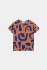 Abstract Jersey t-shirt