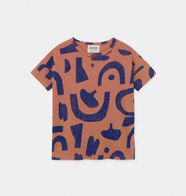 T-shirt, motifs abstraits