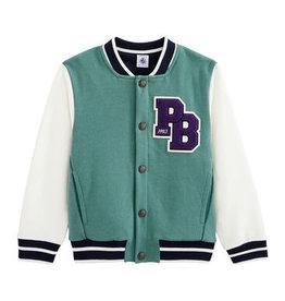 Petit Bateau Boys' Baseball Jacket