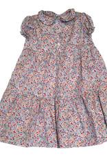 Bonton Amour dress, flowers print