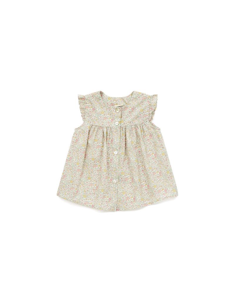 Bonton Nico blouse, Liberty print