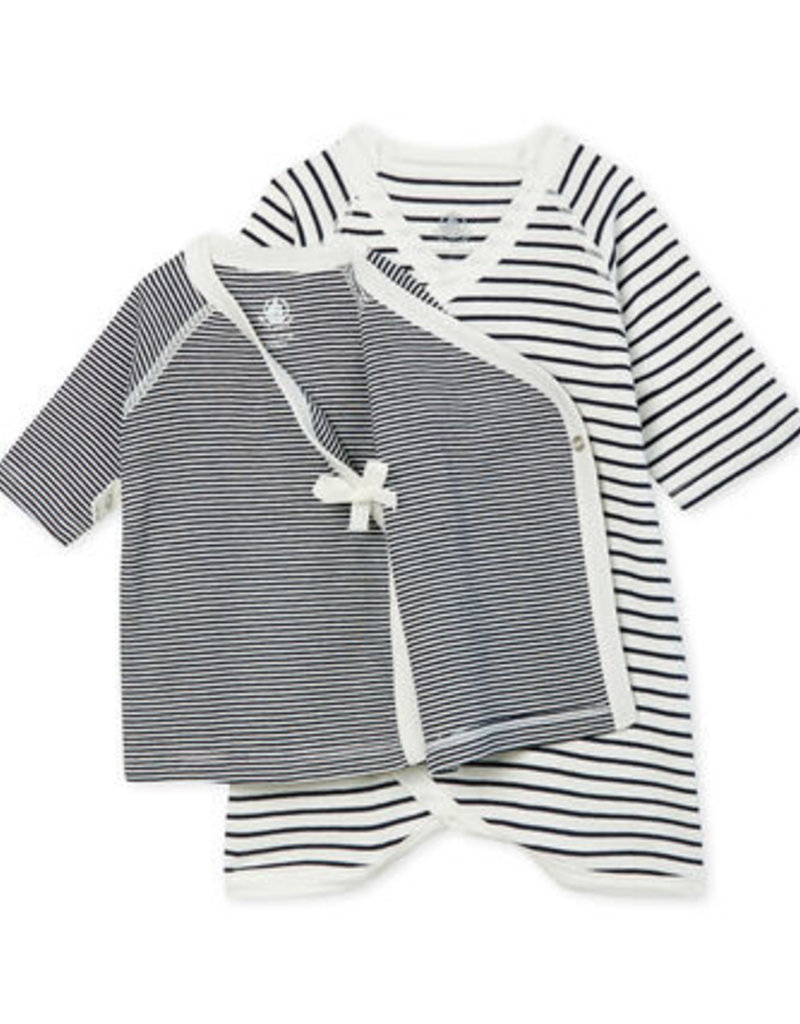 Petit Bateau Kimono 2 pieces set