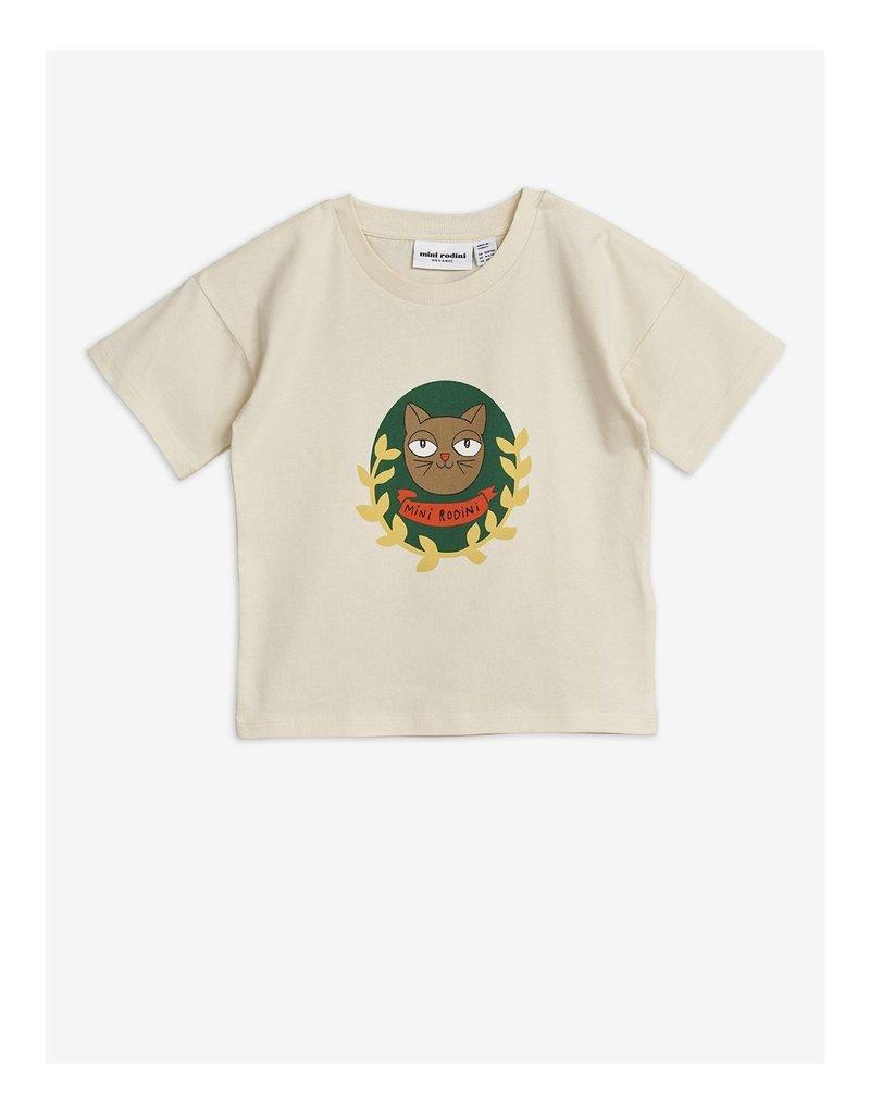 Mini Rodini Cat Badge T-shirt