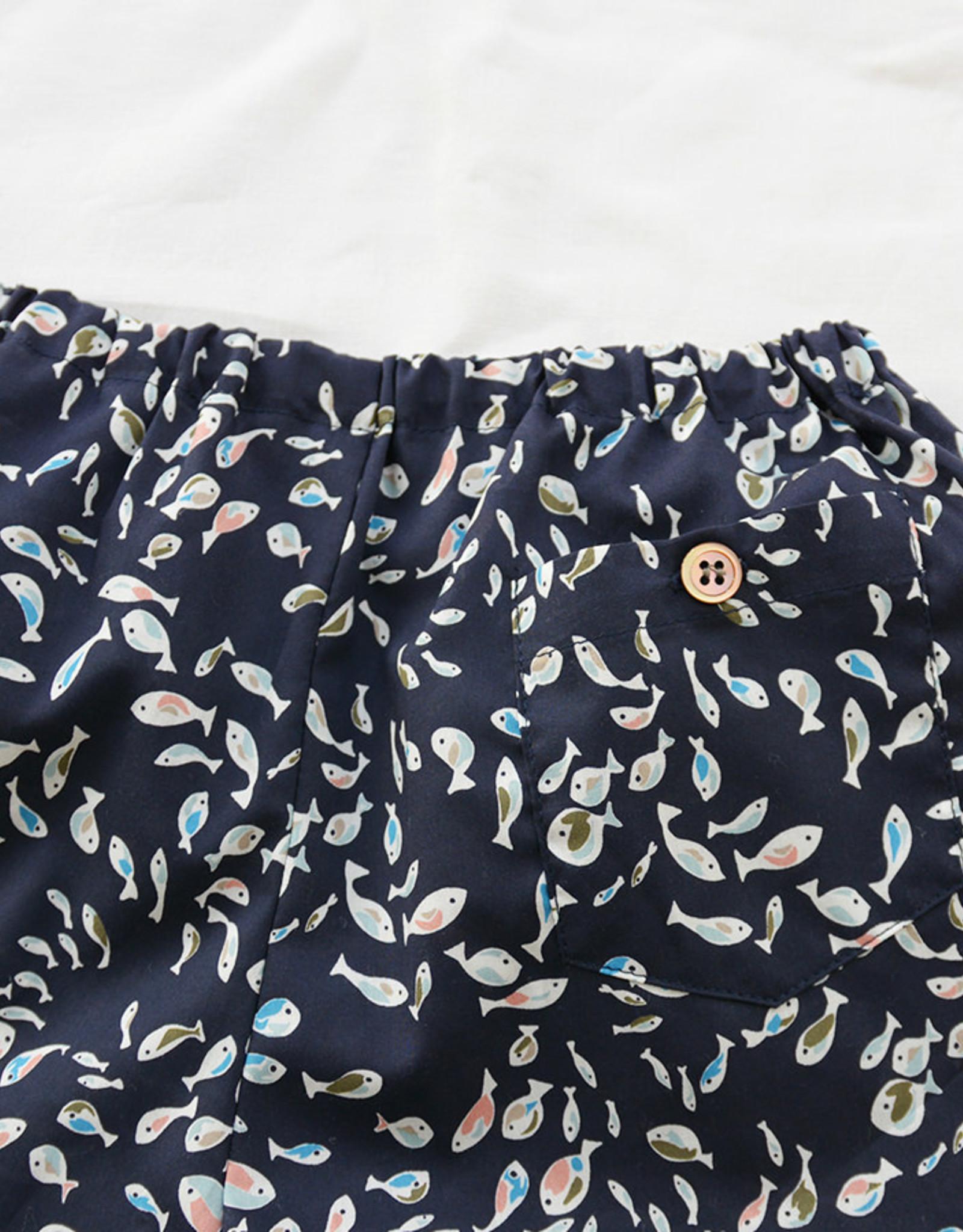 Makié Hugo shorts, fish print