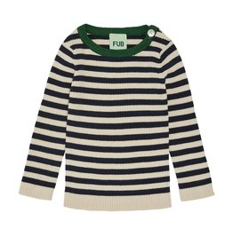 Fub Baby Striped Rib Sweater