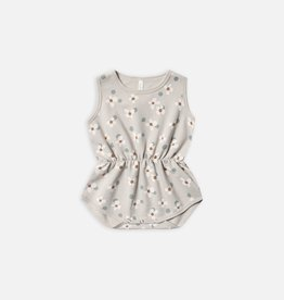 Rylee and Cru Cinched playsuit, dotty flowers