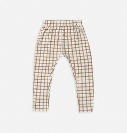 Rylee and Cru Cru pant, bronze grid