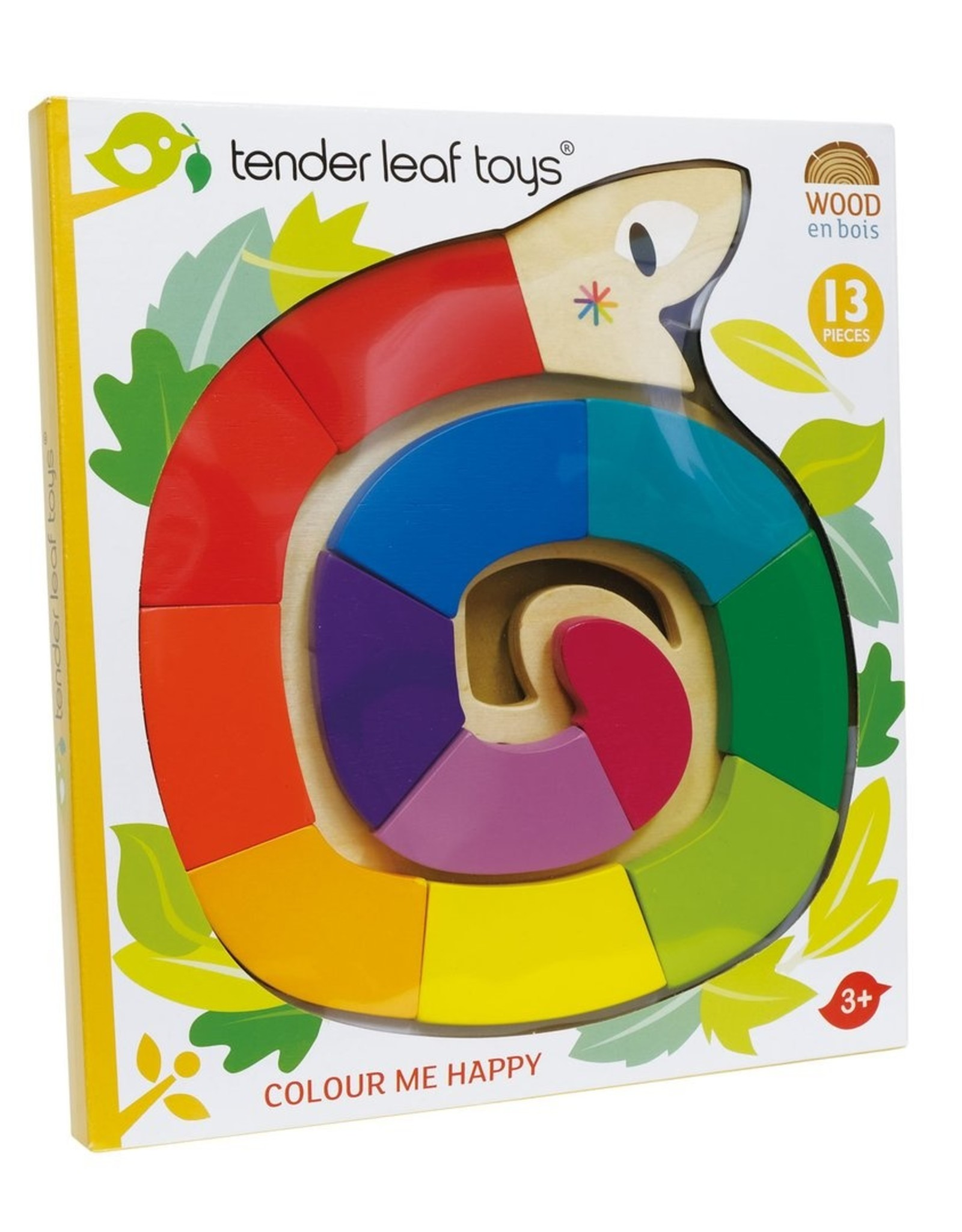 Tender leaf toys Casse-tête Serpent