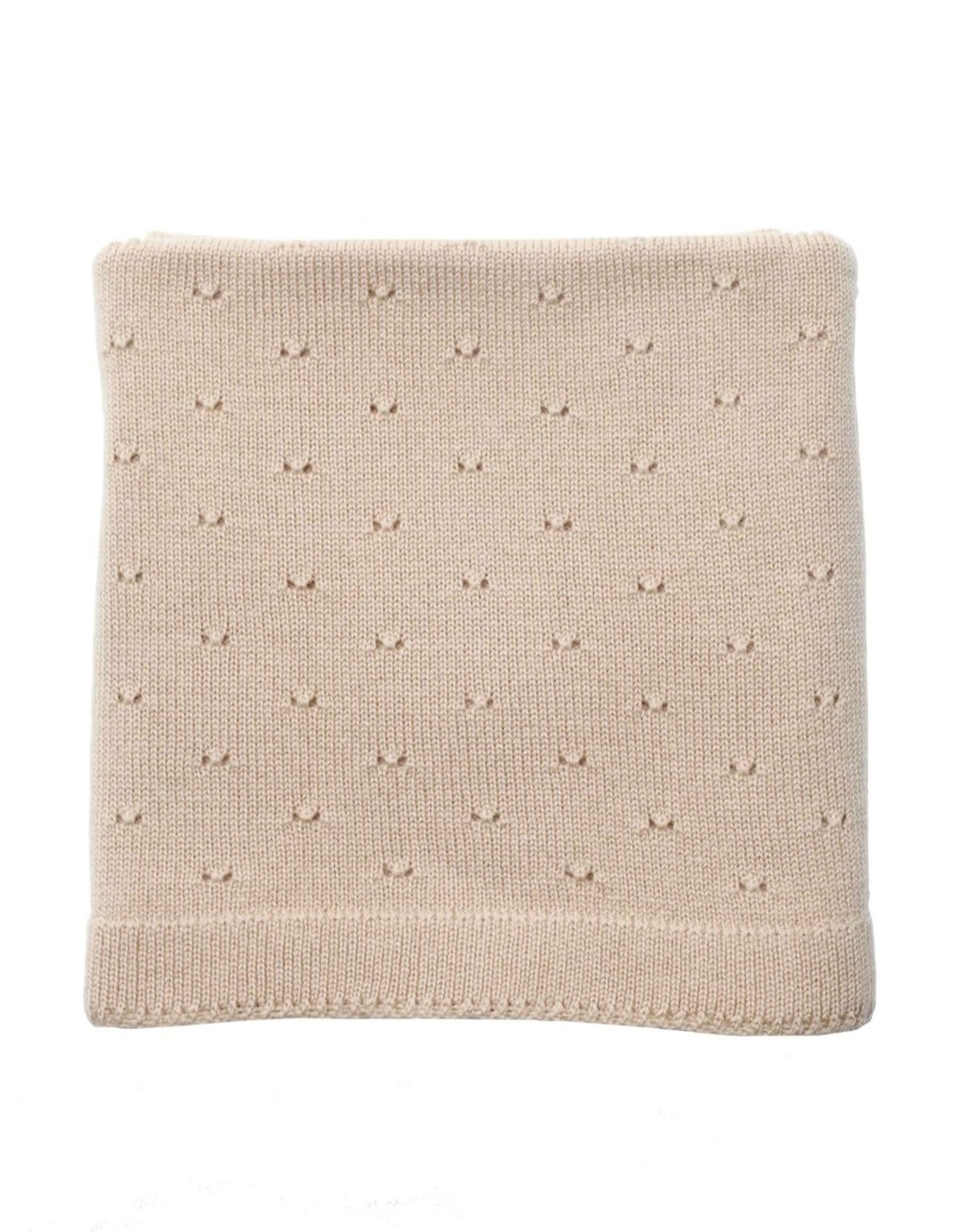 Hvid Bibi blanket