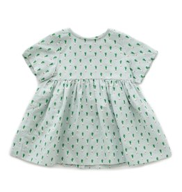 Oeuf Dress, leeks print