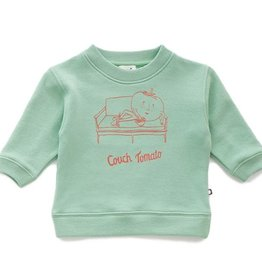 Oeuf Couch Tomato sweatshirt