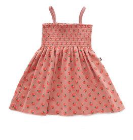 Oeuf Dress, tomato print
