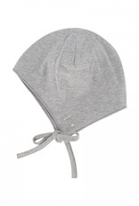 Gray Label Baby Hat with strings