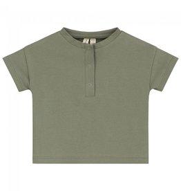 Gray Label T-shirt Henley pour bébé