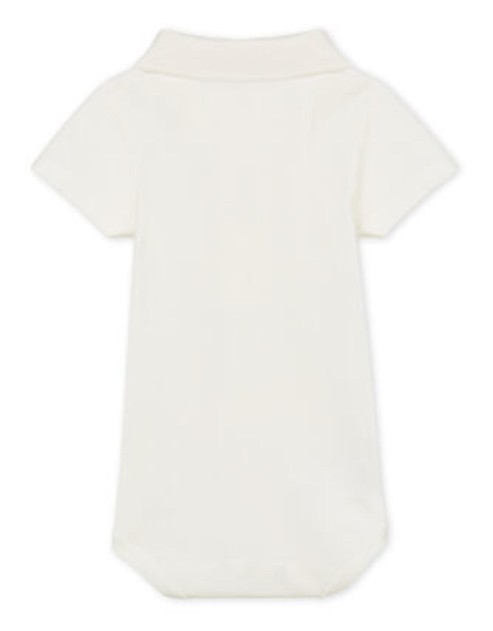 Petit Bateau Bodysuit with Polo Shirt Collar