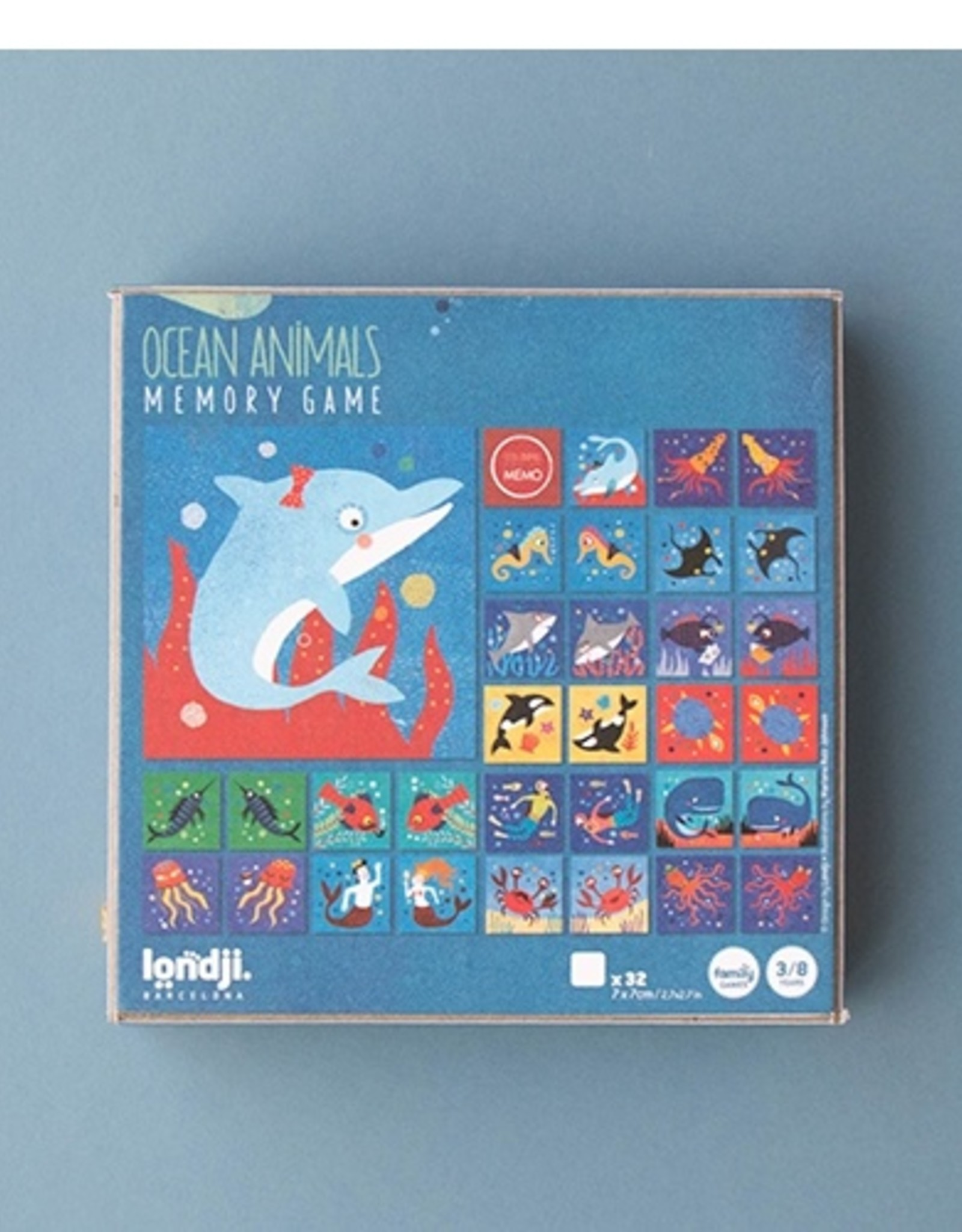 Londji Ocean Animals Memo
