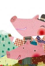 Londji My 3 little pigs puzzle