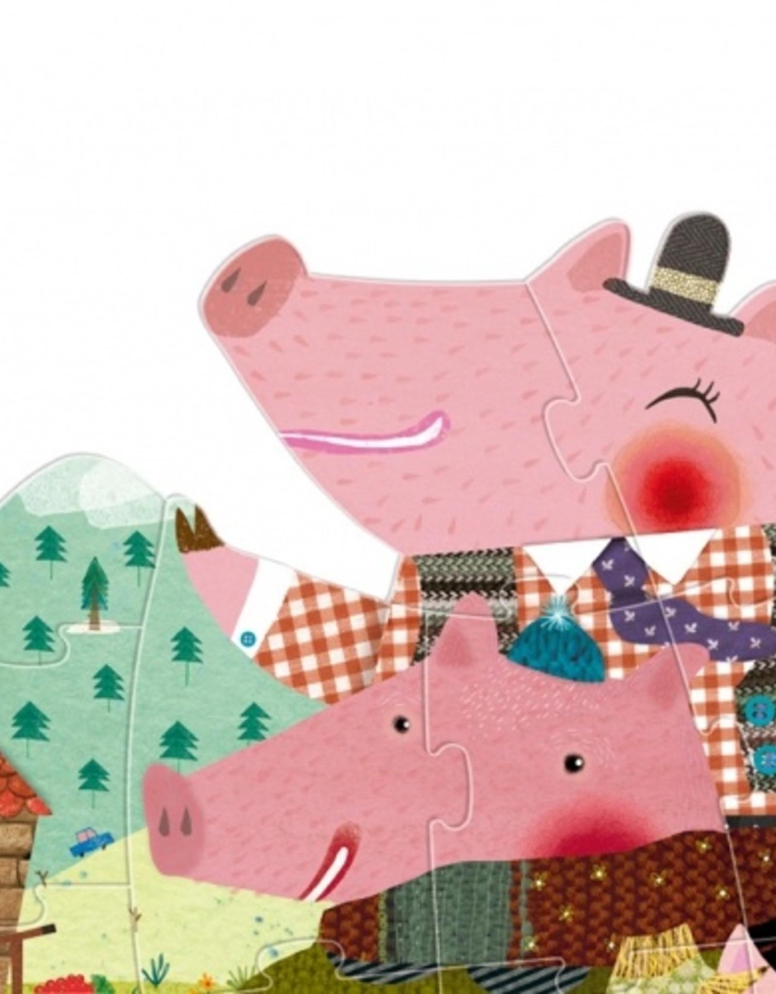 Londji Casse-tête 3 petits cochons