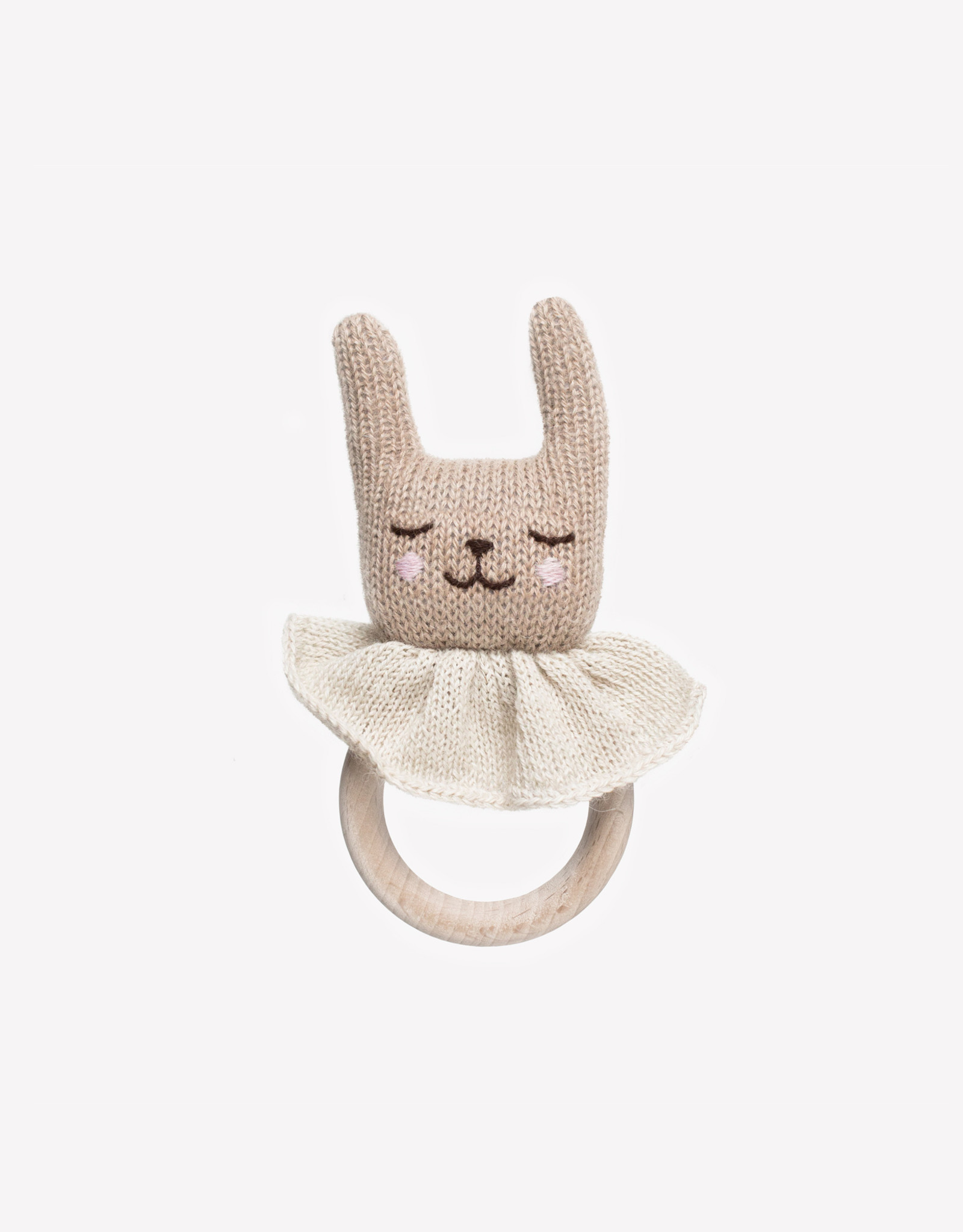 Main Sauvage Rabbit teething ring