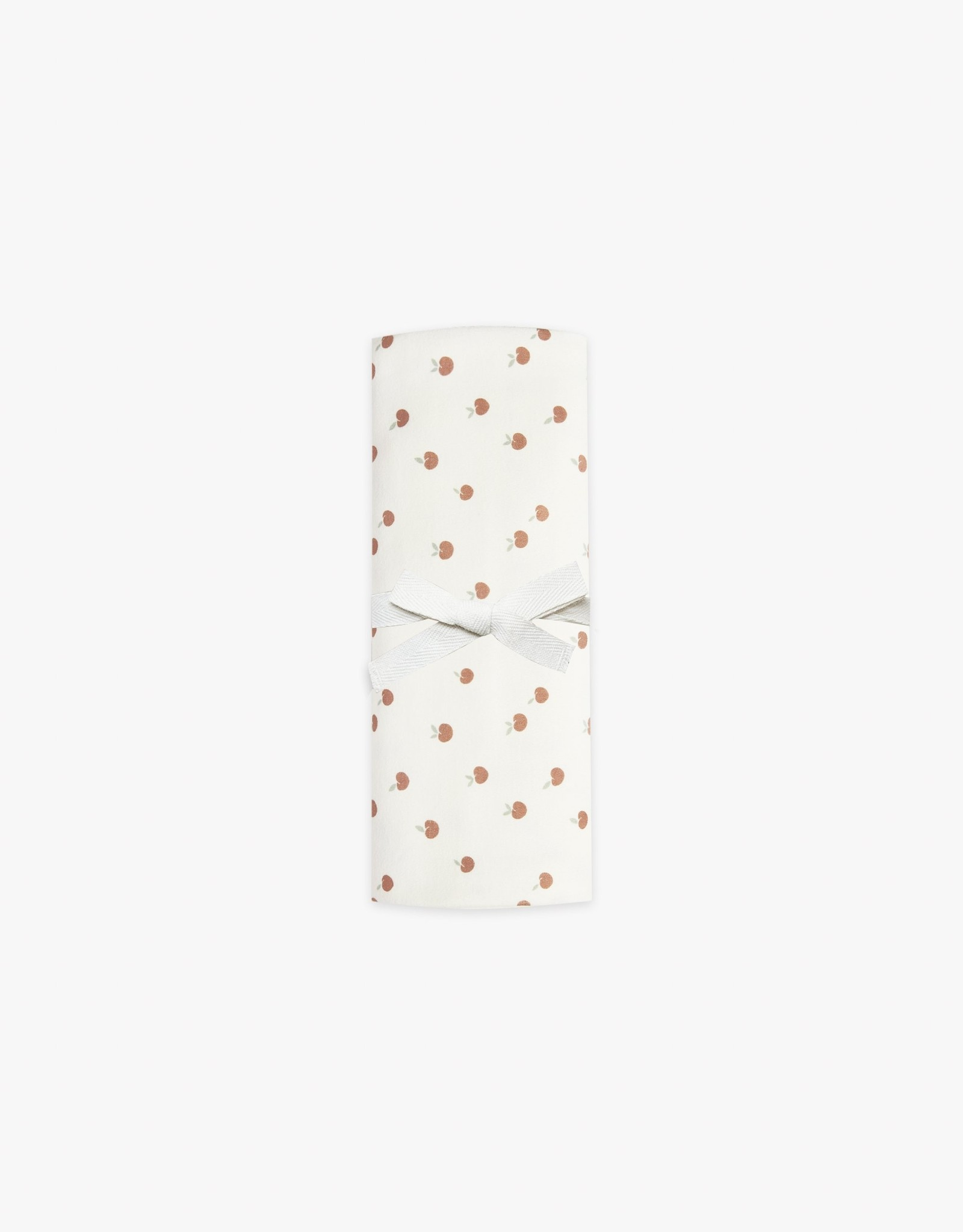 Quincy Mae Baby Swaddle, peach print
