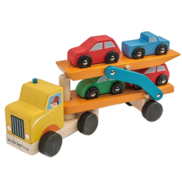 Tender leaf toys Camion remorque