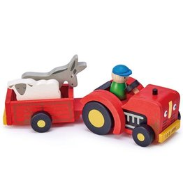 Tender leaf toys Tracteur et remorque