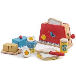 Tender leaf toys Toaster and Egg Set