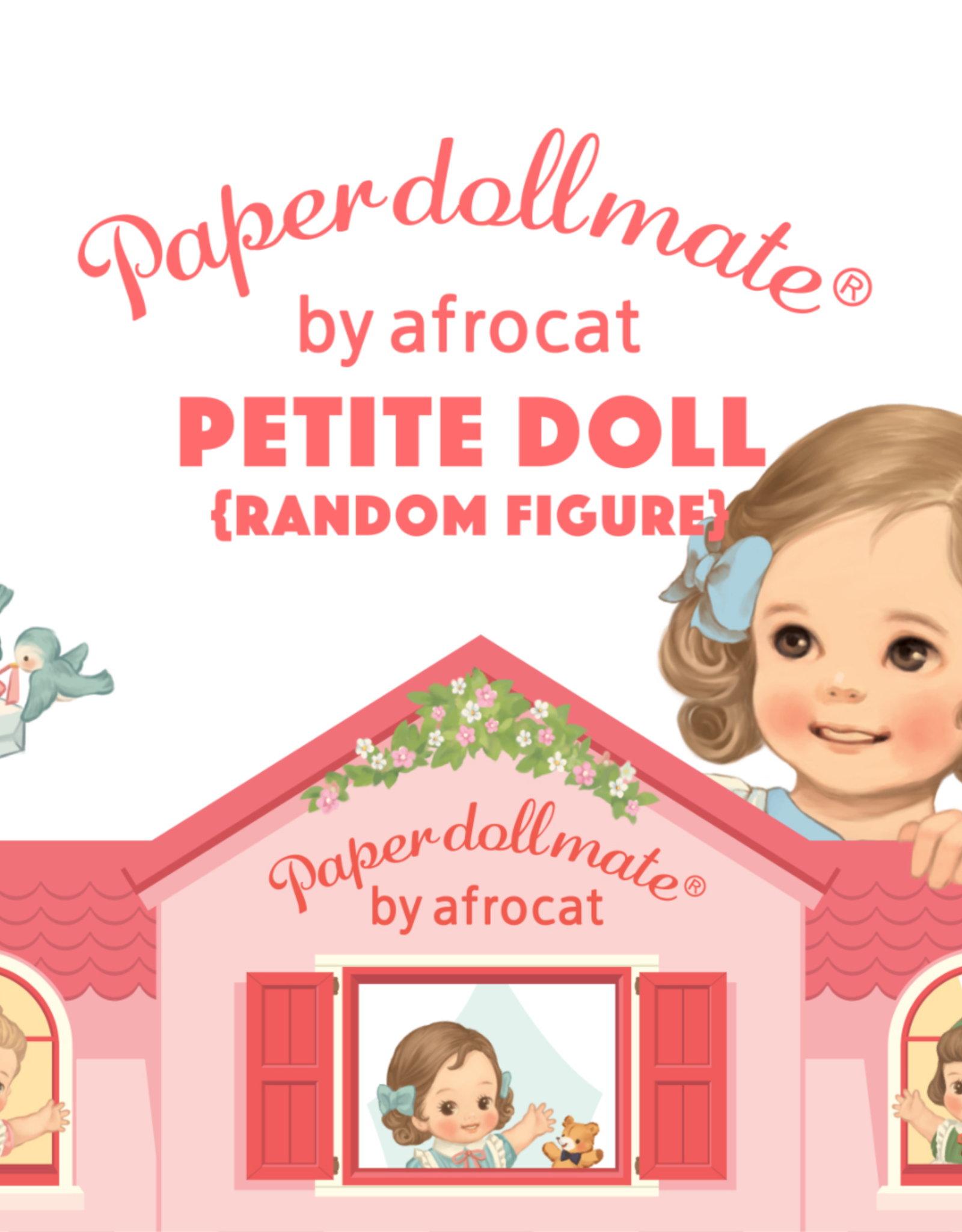 Afrocat Paper doll mate Petite doll