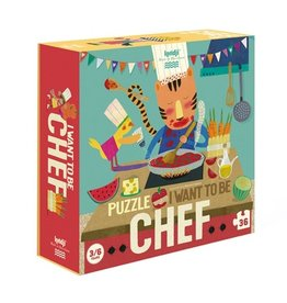 Londji I want to be... Chef Puzzle