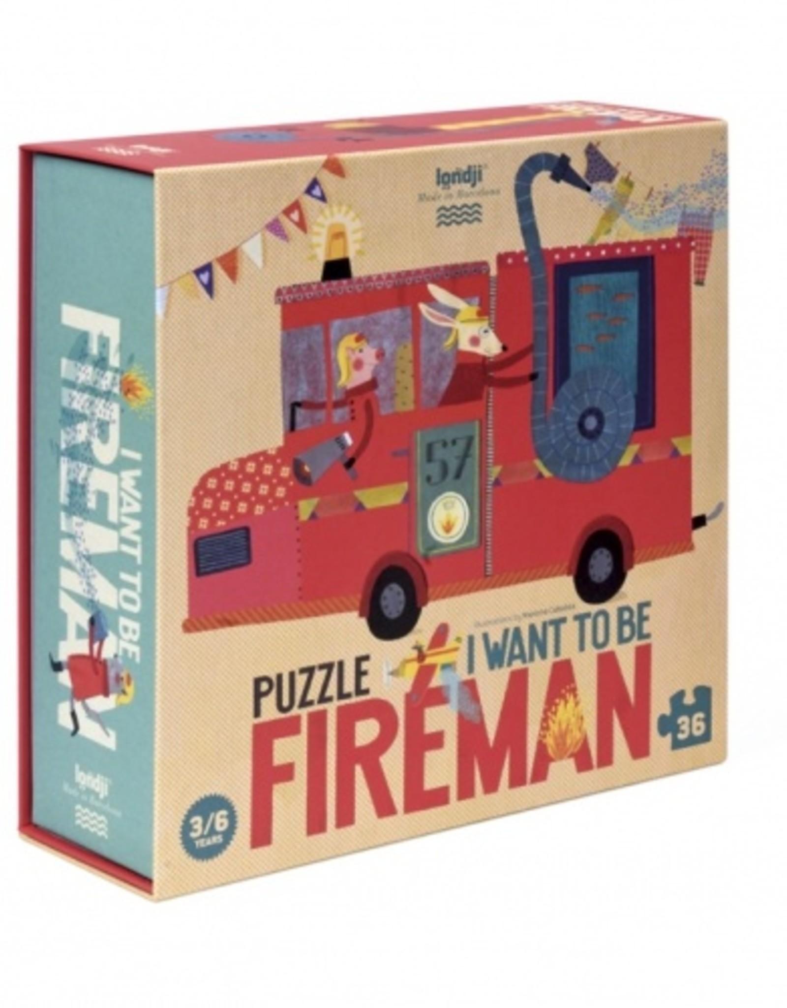 Londji I want to be... Fireman Puzzle