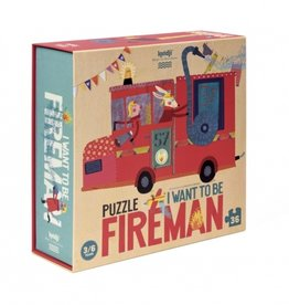 Londji I want to be... Fireman Puzzle