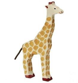 Holztiger Girafe