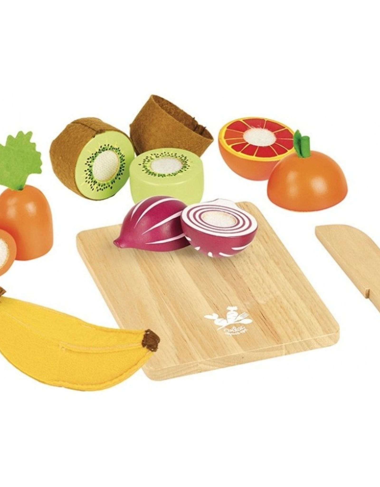 Vilac Fruits et légumes à découper - Jour du Marché