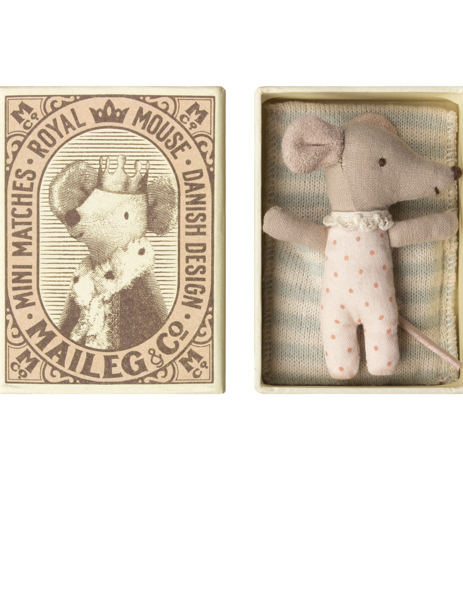 Maileg Baby girl mouse