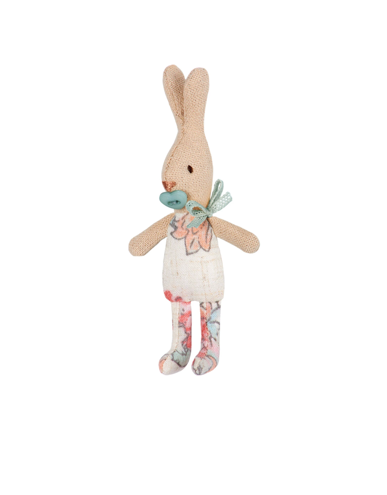 Maileg My Rabbit in Mint Carry Cot