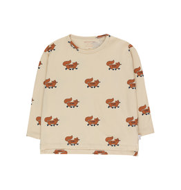 """Tinycottons """"FOXES"""" tee"""