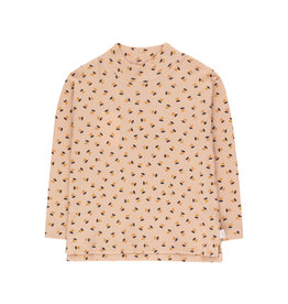 "Tinycottons ""TINY FLOWERS"" mockneck tee"