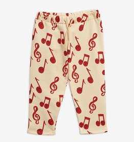 Mini Rodini Notes sweatpants