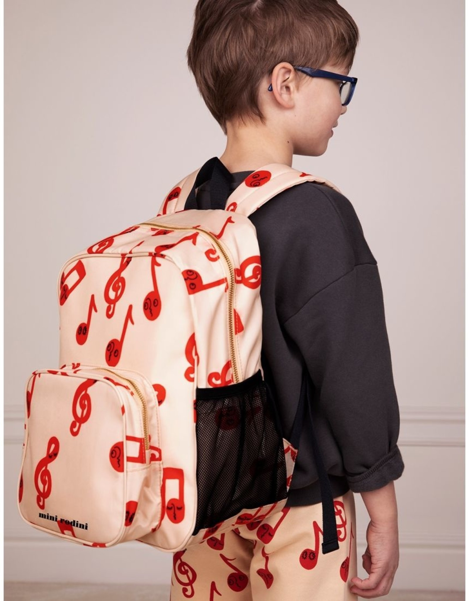Mini Rodini Notes school bag